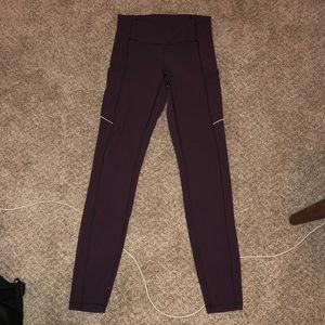 Purple speed up leggings!